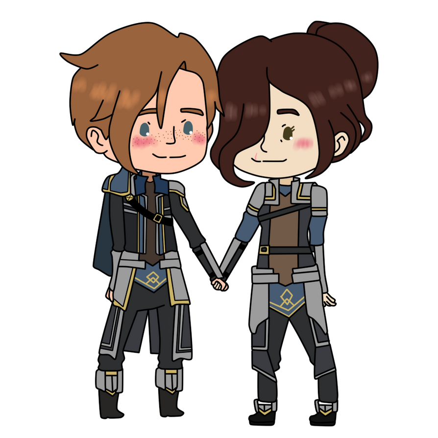 The Dragon Prince Gren X Clemence By Commanderskeeper On Deviantart