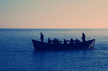 fishermen by LucianDinca