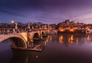 Ponte Sant'Angelo by LucianDinca