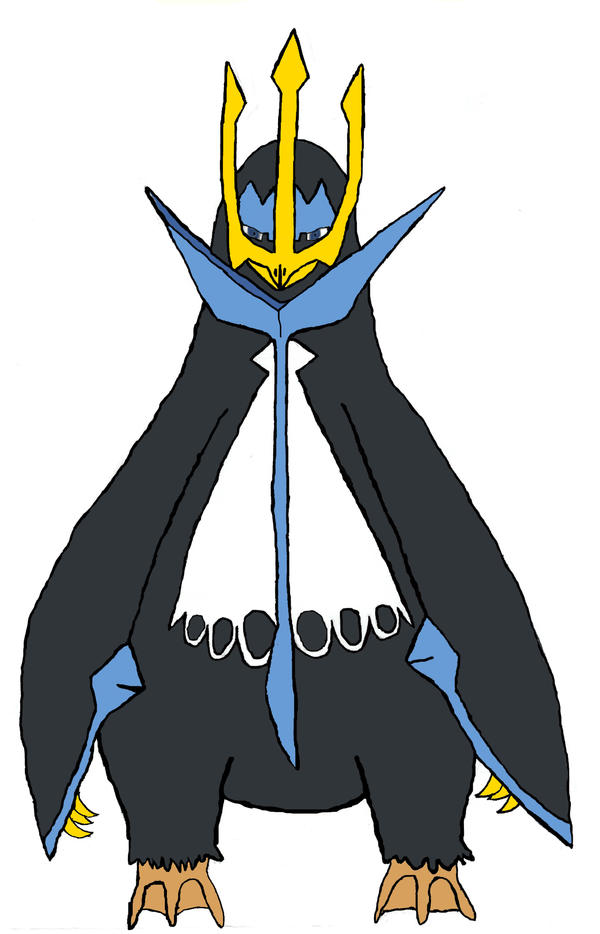 pokemon coloring pages empoleon coloring - photo#30