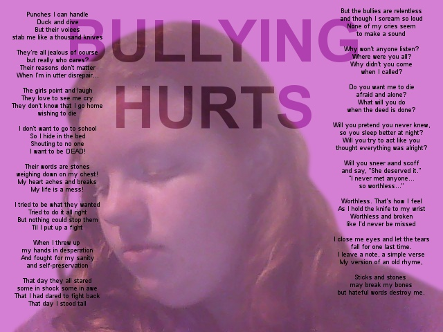 My Spirit Day Profile: STOP THE BULLYING by GloryB2God on DeviantArt