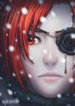 Ash in Snow by Kaorien