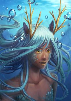 Water Dragon Girl