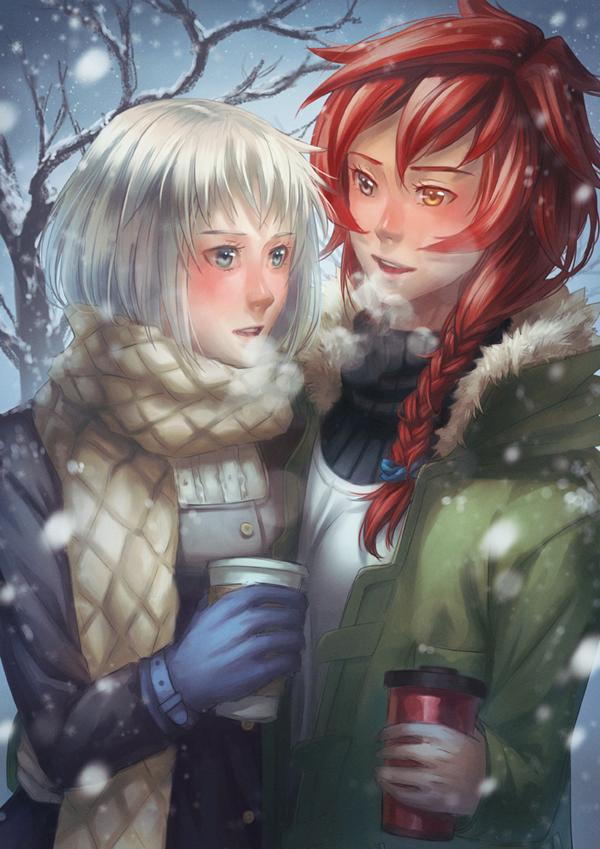 Winter Walk by Kaorien