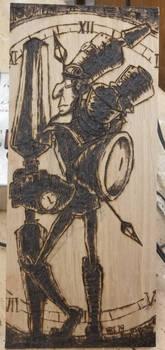 N.Tropy Woodburning by Kredder