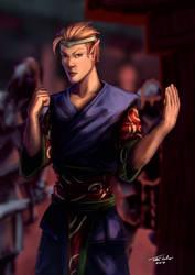 Elven Monk [C]