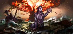 The Burning of Teldrassil