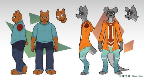 Some Dumb Furry Boys by MasterDaye