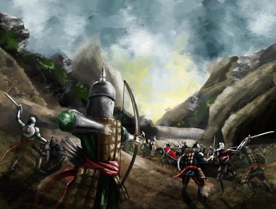 Miryakefalon Sava Alan Last Battle Aka Bir Gar by furman114