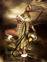 Barbarian woman by janedj