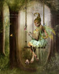 Little swinging elf