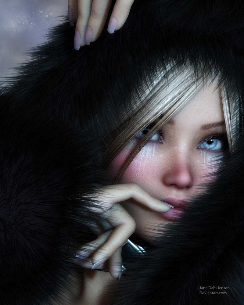 Cold winter night by janedj