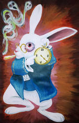 Alice's Rabbit 420 by sm00ps