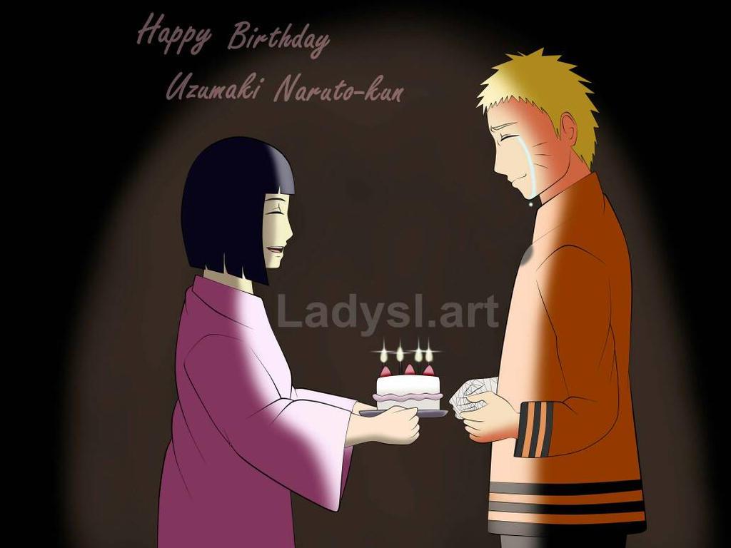 Happy Birthday Uzumaki Naruto by ladyslart