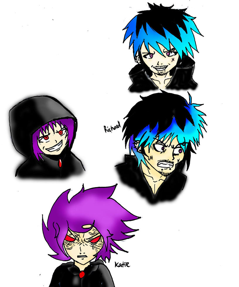 manipulator and queen of darkness by crazykid000