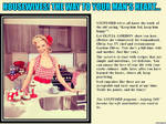 Housewives! The way to your man's heart...