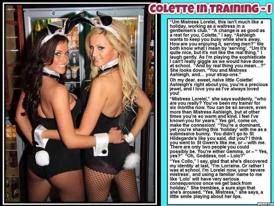after St Gwen's: Colette in Training - I by p-l-richards