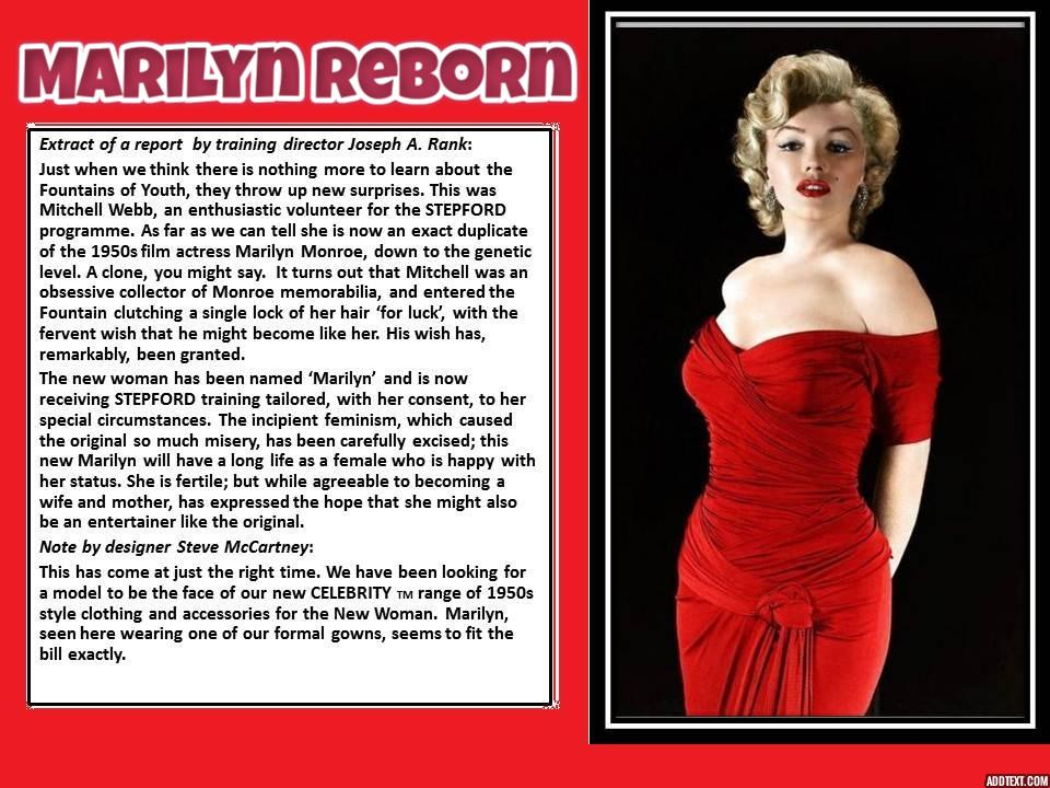 Marilyn Reborn (a request for DAQueenRuler) by p-l-richards