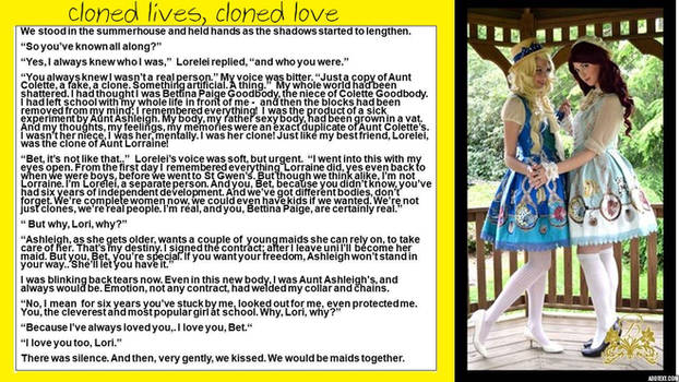 after St Gwen's: Cloned lives, cloned love