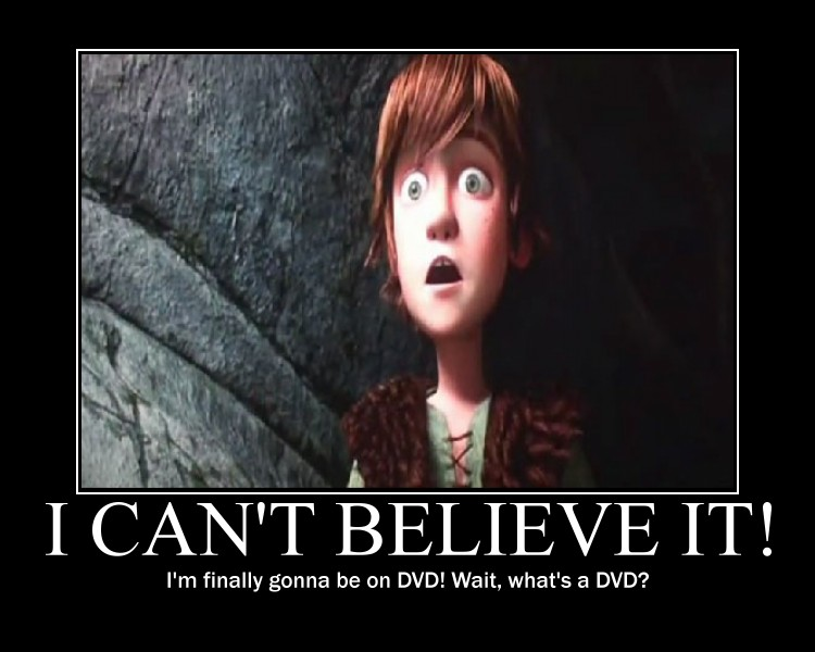 How To Train Your Dragon 2 Hiccup And Toothless Poster HTTYD Motivational 25 ...