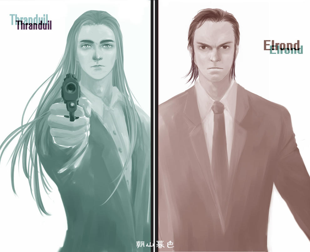 elrond and thranduil relationship trust
