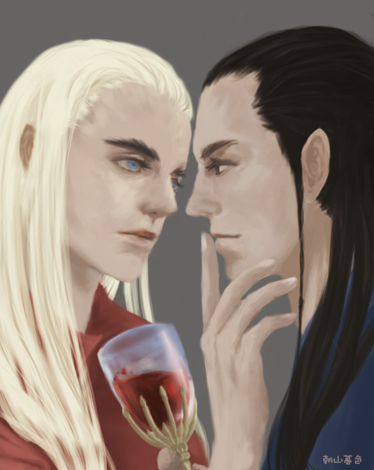 elrond and thranduil relationship test