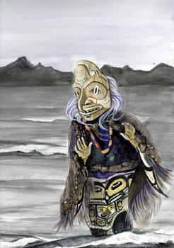 DogFish Woman Dancing