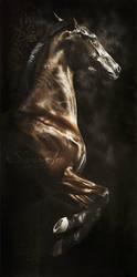 Origianal equine art: FOEHN by skyzune art