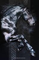 Horse painting AKATAGNOSTOS by Skyzune ART