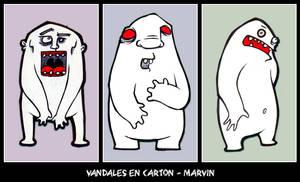 projet vandales en carton - 1 by PsykoMarvin