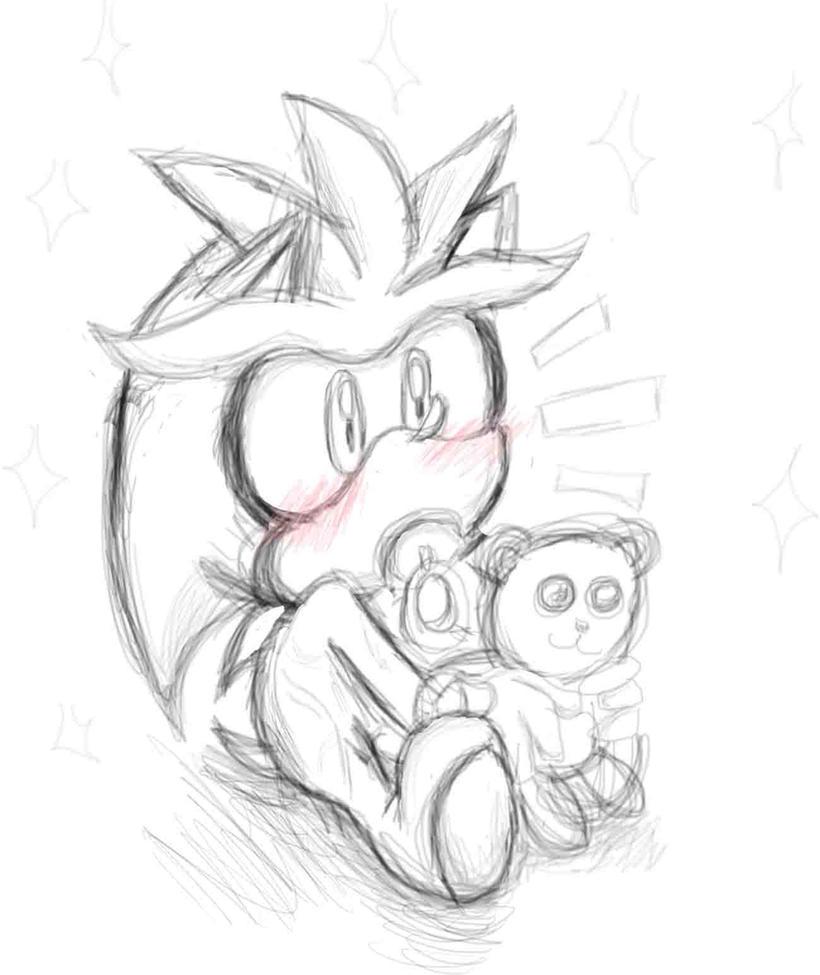 sketch baby silver by sonicmiku on deviantart