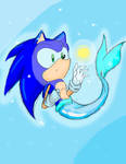 Sonic as a merhog :D