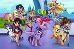 My Little Sailor Moon - Introduction