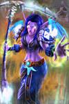 Burning - World of Warcraft Night Elf Druid