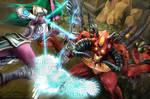 Heroes of the Storm - Tyrande vs Diablo