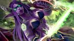 Female Illidan - Warcraft (Wallpaper Angle)