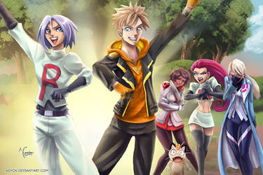 Pokemon Go - Team Rocket by Adyon