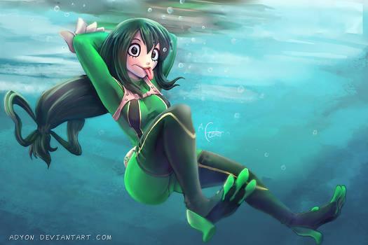 Froppy Underwater
