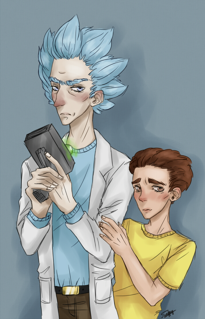 Rick and Morty by Sandver