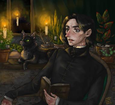 Night reading by Sandver