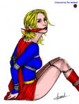 Supergirl tied and gagged