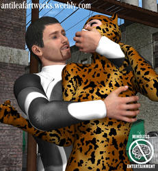 Cheetah abducted by MndlessEntertainment