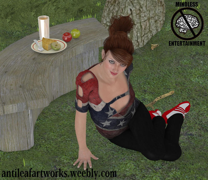 Picnic beauty by Antileaf-Artworks