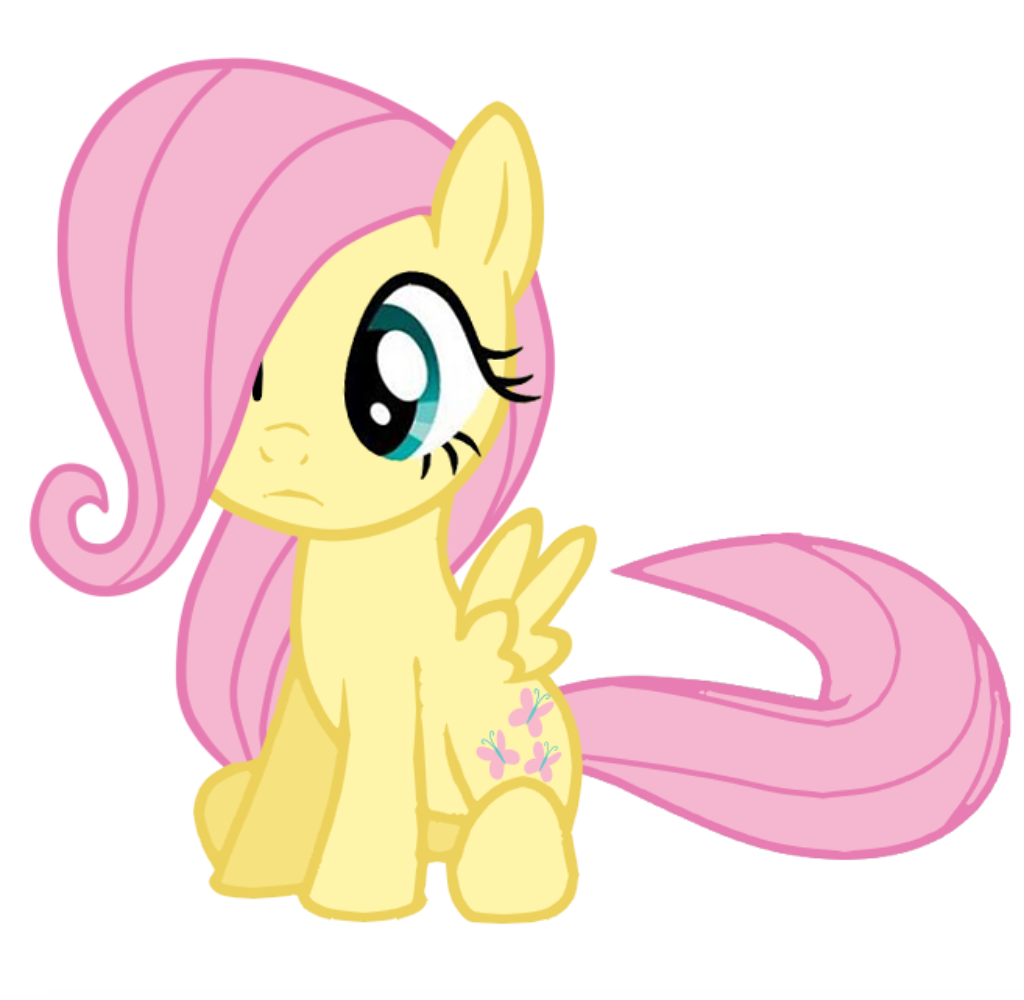 Filly Fluttershy by Posey-11 on DeviantArt