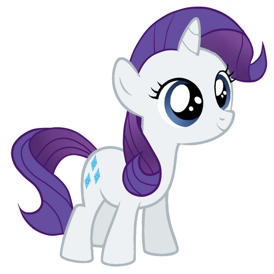 Rarity Filly by Posey-11 on DeviantArt