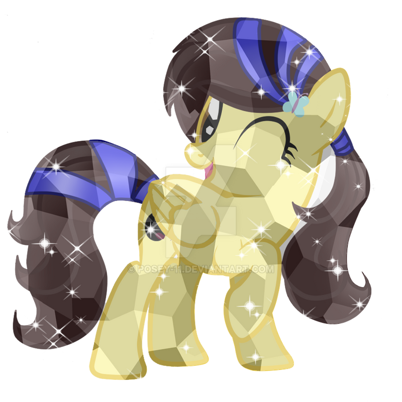 Luni Crystal Pony by Posey-11