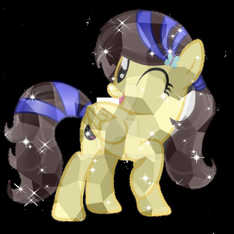 Luni Crystal Pony by Posey-11