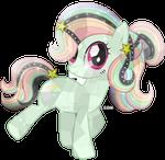 Comission-6 Wish Rainbow Crystal Pony