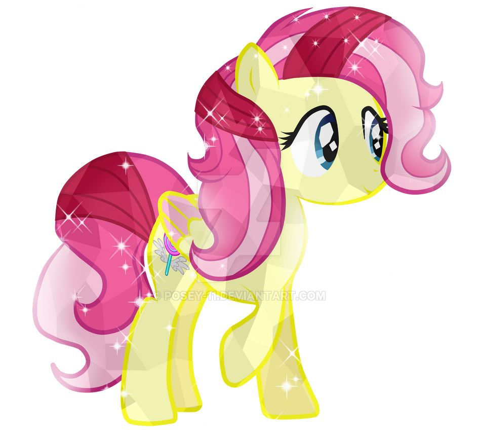 Comission-10 Candy Wings Crystal Pony by Posey-11