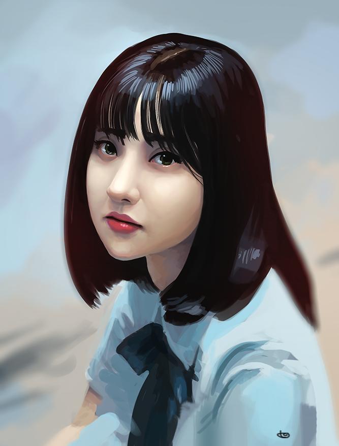 eunha_portrait_study_01_by_logodos-dccfq